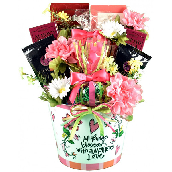 Happy Mother's Day Balloon & Mix of Sweets Gift Basket
