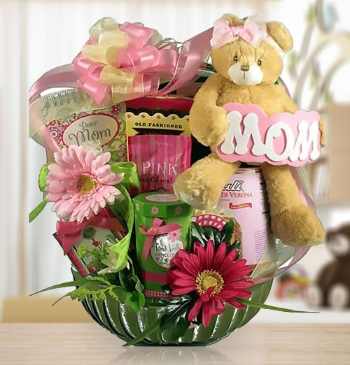 I Love You, Mom! Sweets & Gourmets Gift Basket