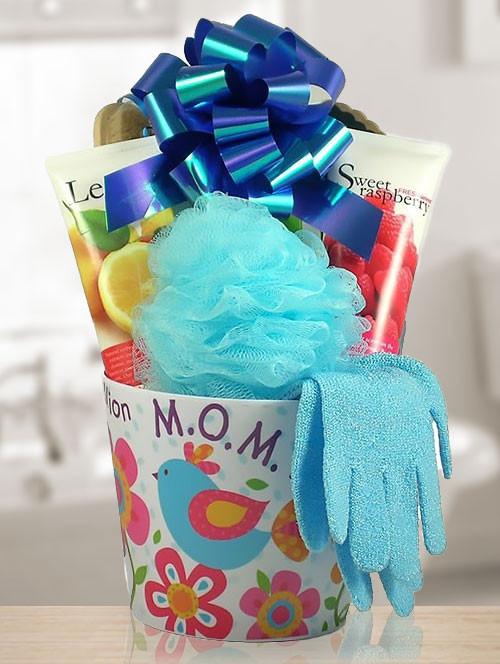 Mom's Luxury Spa Gift Basket for Body & Soul