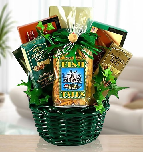 For the Real Fisherman Gift Basket of Delights