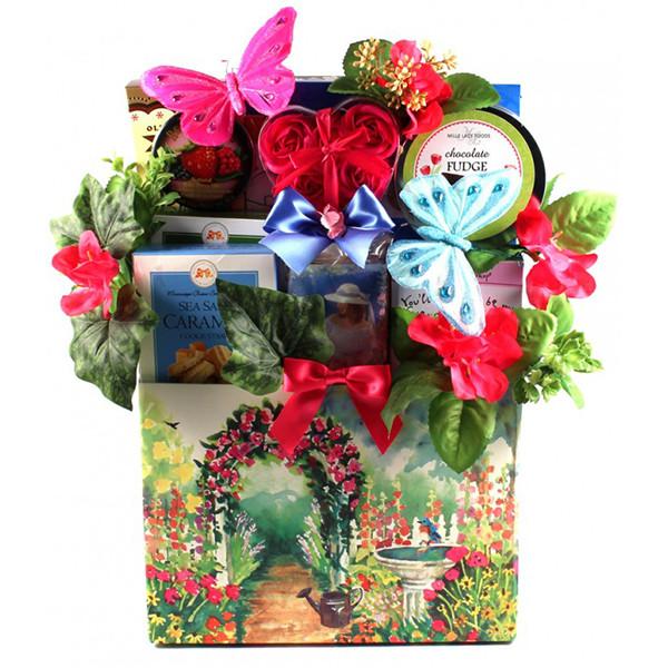 Happy Gardener's Gift Basket of Treats