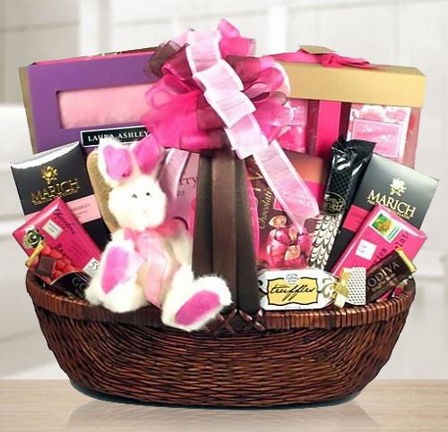 Sweet & Pretty Spa & Chocolate Gift Basket
