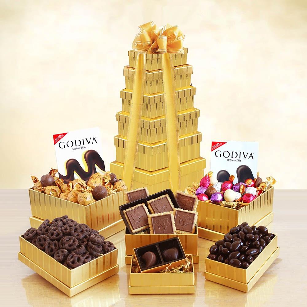 A Golden Gift: Ultimate Godiva Tower