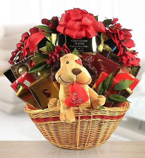 Together Forever! Romantic Gift Basket