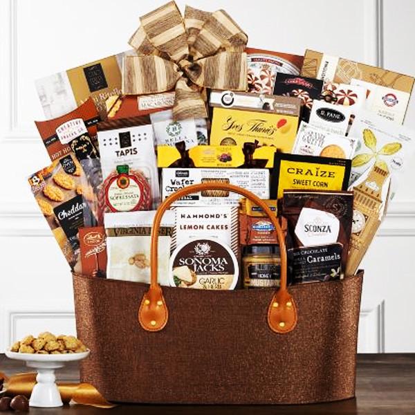 Luxury Godiva & Gourmet Celebration Gift Basket