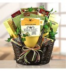 Tea & Snacks by the Fire Gift Basket