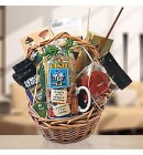 His Fishing Passion Delightful Gift Basket