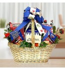 Be Happy, Mom! Gift Basket of Gourmet Delicacies