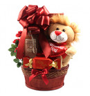 I Love You! Romantic Gift Basket for the Sweet Tooth