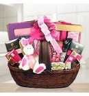 Sweet & Pretty Spa & Chocolate Gift Basket