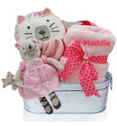 To Our Little Kitty baby Girl Gift Basket