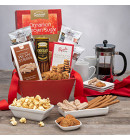 Time for Coffee & Snacks Gift Basket