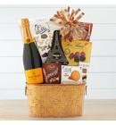 Veuve Cliquot Champagne, Chocolate & Gourmet Gift Basket