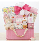 Celebrate New Life Gift Basket (Girl)