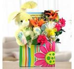Chocolate Easter Eggs, Bunny Gourmet Gift Basket