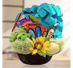 Entertaining Activities Gift Basket for Kids