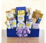 Relax and Enjoy Lavender Spa Gift Basket