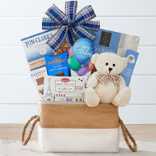 Sweet Beary Birthday Wishes Gift Basket
