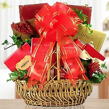 Godiva & Chocolate Treats Romantic Gift Basket