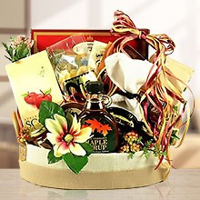 Sweet Bed in Breakfast Romantic Gift Basket