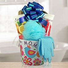 Mom's Luxury Spa Gift Basket for Body & Soul