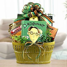 Dad will Love it! Gourmet Gift Basket
