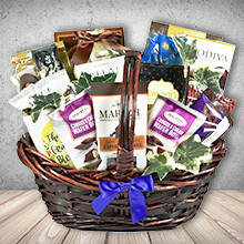 Extra-Chocolate Gift Basket for the Sweet Tooth