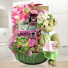 Her Favorite Treats Gift Basket for Mom