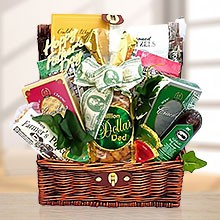Sausage, Coffee & Gourmet Lover Dad Gift Basket