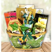 Gift Basket of Delightful Treats for Avid Golfers