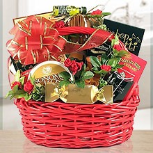 Romantic Date Gift Basket of Chocolate