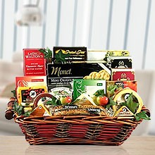 Triple Cheese Gourmet Gift Basket