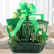 St. Patty's Day Snack Basket