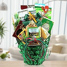 Golf is Your Life Gift Basket of Cheese'n'Nuts