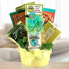 Sunny Days to You! Get Well Gift Basket