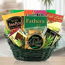 A Million Dollar Dad's Coffee & Gourmet Gift Basket