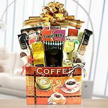 Deluxe Coffee Selection Sweet Gift Basket