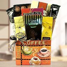 Coffee Selection Sweet Gift Basket