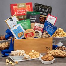 Tasty Snacks Gift Basket