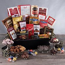 Grand Chocolate Christmas Gift Basket