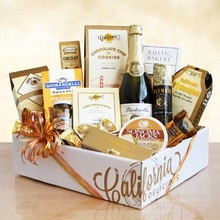 Delightful Gift Basket of Sweet Treats & Gourmet
