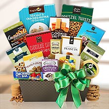 Deluxe Snack Gift Basket for a Party