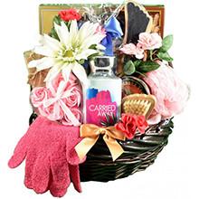 Luxury Sweet & Spa Gift Basket for Women