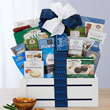 Many Thanks Exclusive Gift Basket of Gourmet Treats
