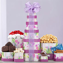 Cheerful Gift Tower of Sweets from Tuscany