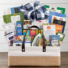 All the Best for the Holidays Gift Basket of Treats