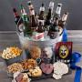 Enormous Beer & Snack Gift Basket of 6 Beers