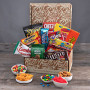 For You & Your Friends Gift Basket of Snacks