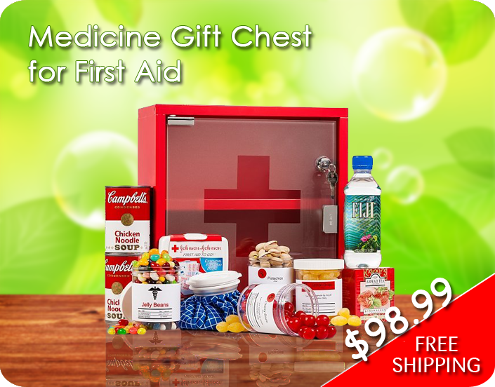 Medicine Gift Chest for First Aid